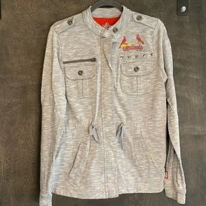 St.Louis Cardinals MLB zip up jacket
